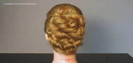 Стрижка жгутиками короткие волосы