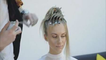 Коллекция профи модных причёсок