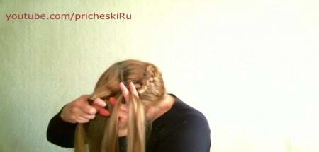 Коса вокруг головы