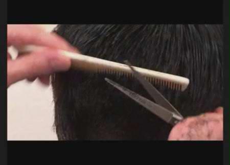 Мужская стрижка на короткие волосы