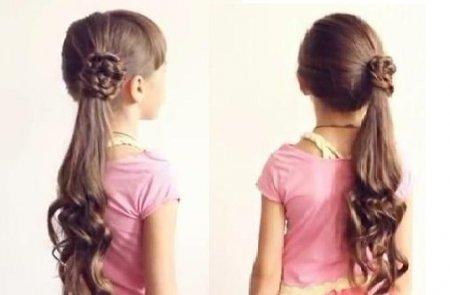 Простые прически на длинные волосы своими руками для девочек