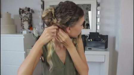 Элегантная причёска за 5 мин