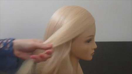 Лёгкая объёмная причёска для тонких волос