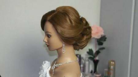 Свадебная, вечерняя прическа / Bridal updo
