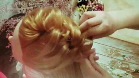 Причёска - Морская волна