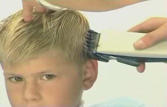 Мастер класс стрижка для мальчика видео