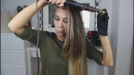 Быстрая и простая причёска в клуб