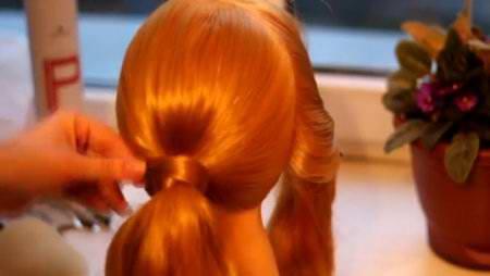 Пучок с объемной косой