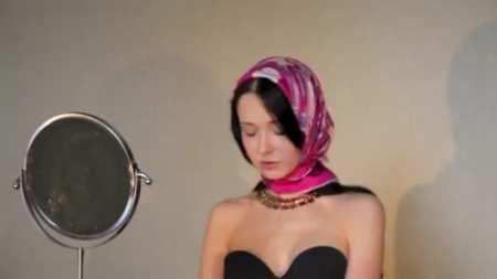 Как завязать платок на голову - 7 способов