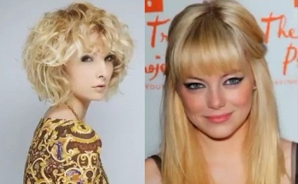 Прически и стрижки для блондинок