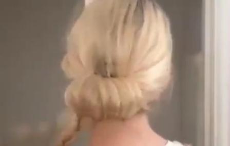 Как быстро и красиво уложить волосы в пучок