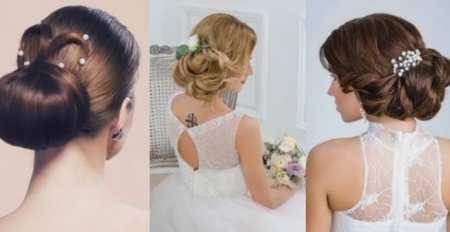 Модные свадебные прически