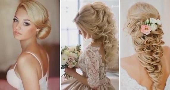 невесты фото причёски