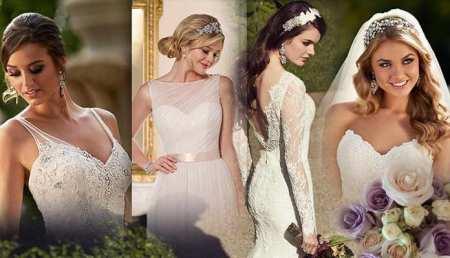 Как правильно подобрать прическу под свадебное платье
